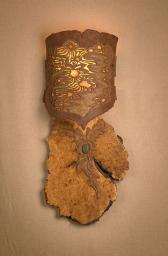 Ceramic Burl Slab Sconce