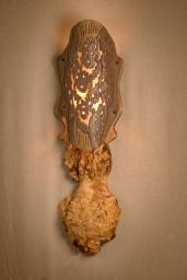 Ceramic Burl Sconce